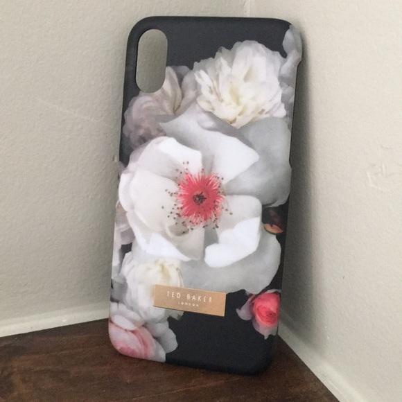 sale retailer 63a1b 0a441 Ted Baker London floral phone case iPhone X NIB NWT